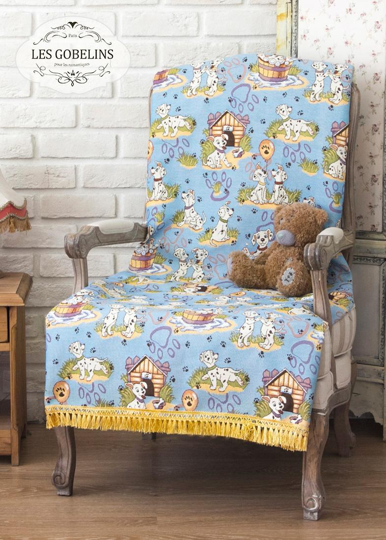 Детские покрывала, подушки, одеяла Les Gobelins Детская Накидка на кресло Dalmatiens (100х120 см) кофты и кардиганы idea kids кофточка 017 кс