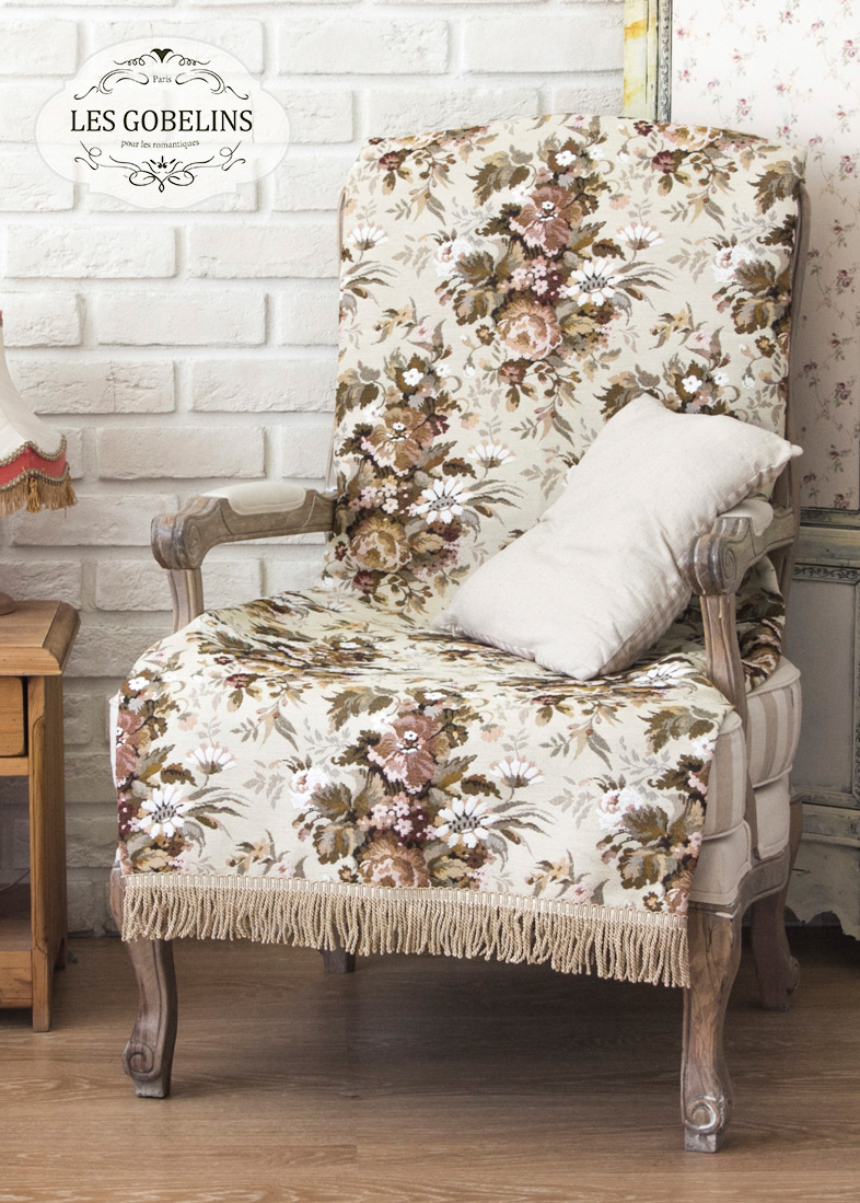 Покрывало Les Gobelins Накидка на кресло Terrain Russe (90х150 см) покрывало les gobelins накидка на кресло terrain russe 100х130 см