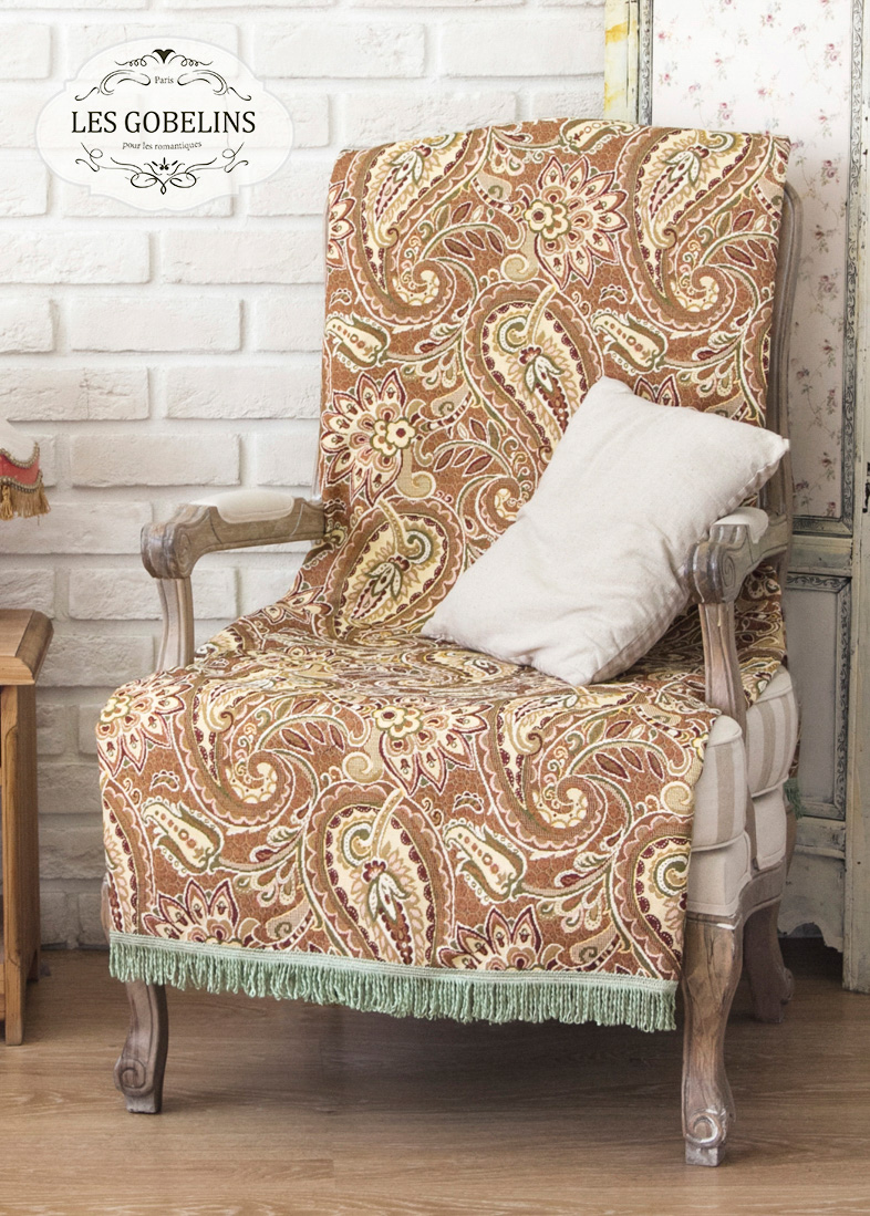 Покрывало Les Gobelins Накидка на кресло Vostochnaya Skazka (50х140 см) покрывало les gobelins накидка на кресло vostochnaya skazka 60х150 см