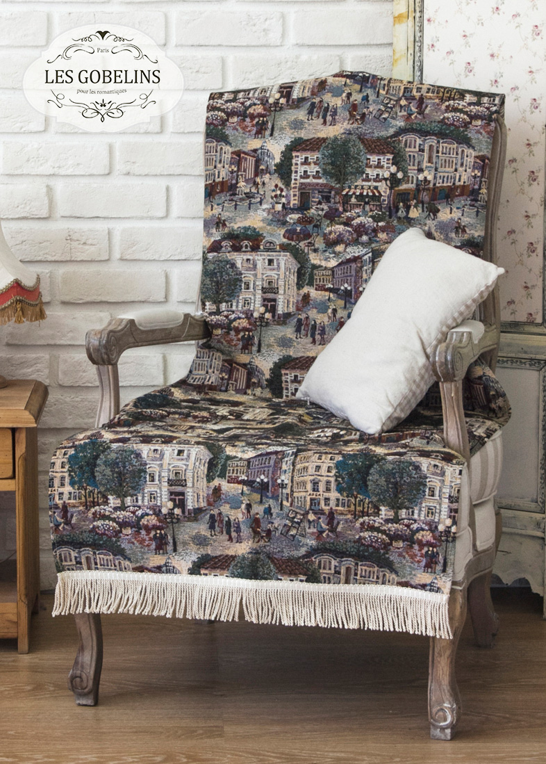 где купить Покрывало Les Gobelins Накидка на кресло Arbat (80х190 см) по лучшей цене