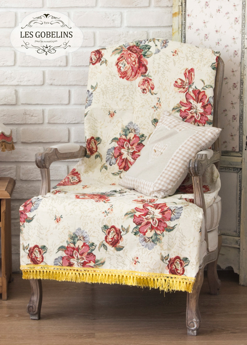 где купить Покрывало Les Gobelins Накидка на кресло Cleopatra (80х190 см) по лучшей цене