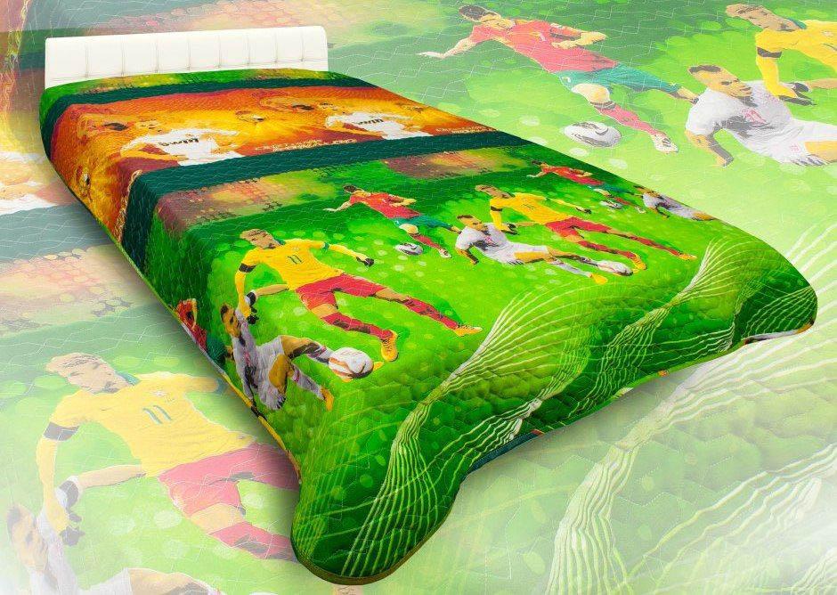 Детские покрывала, подушки, одеяла AlViTek Детское покрывало Чемпионат Мира (150х215 см) покрывало рафаэль поплин 150х215