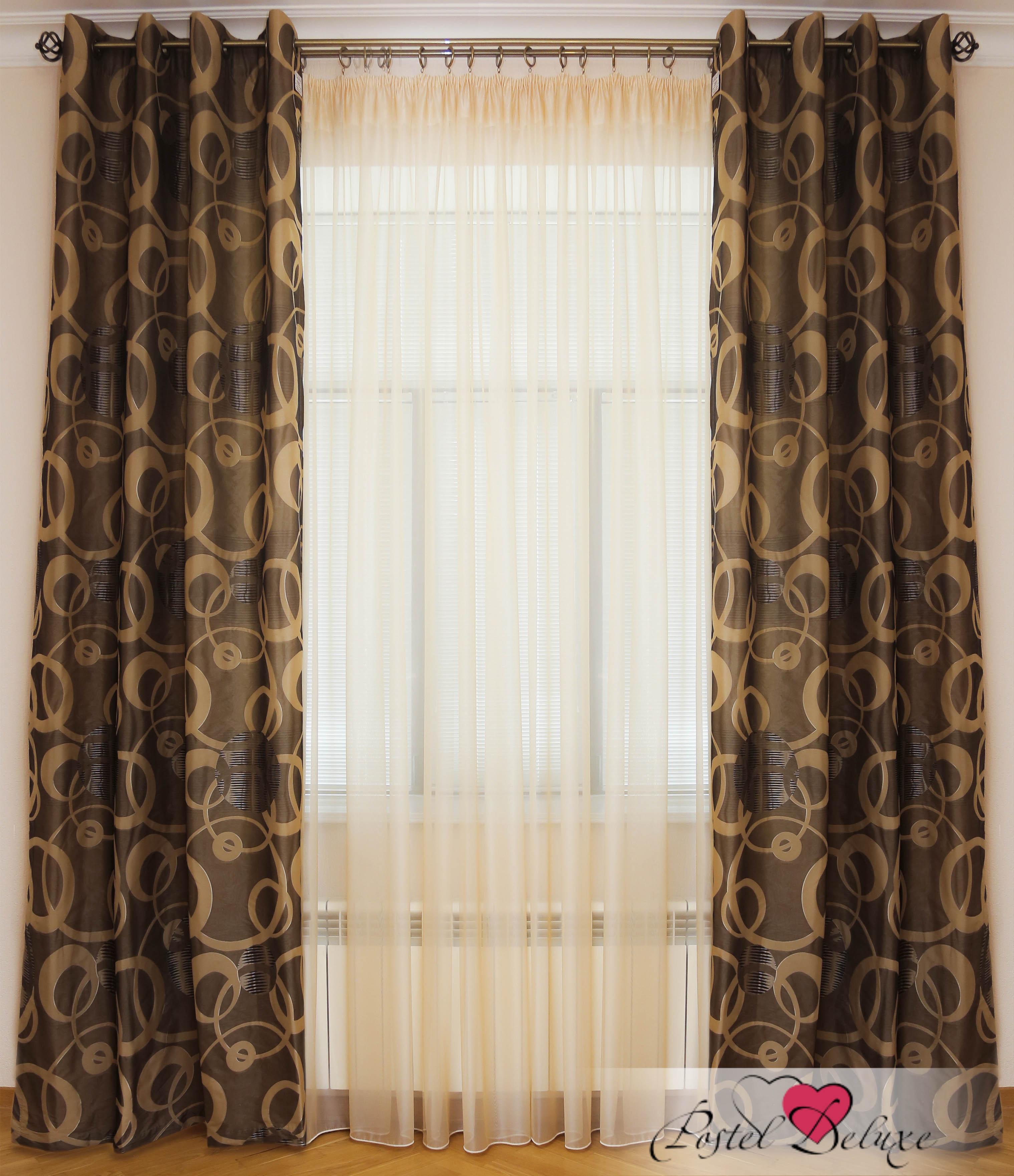 Шторы Interiotex Классические шторы Амадео Цвет: Черный шторы tac классические шторы winx цвет персиковый 200x265 см