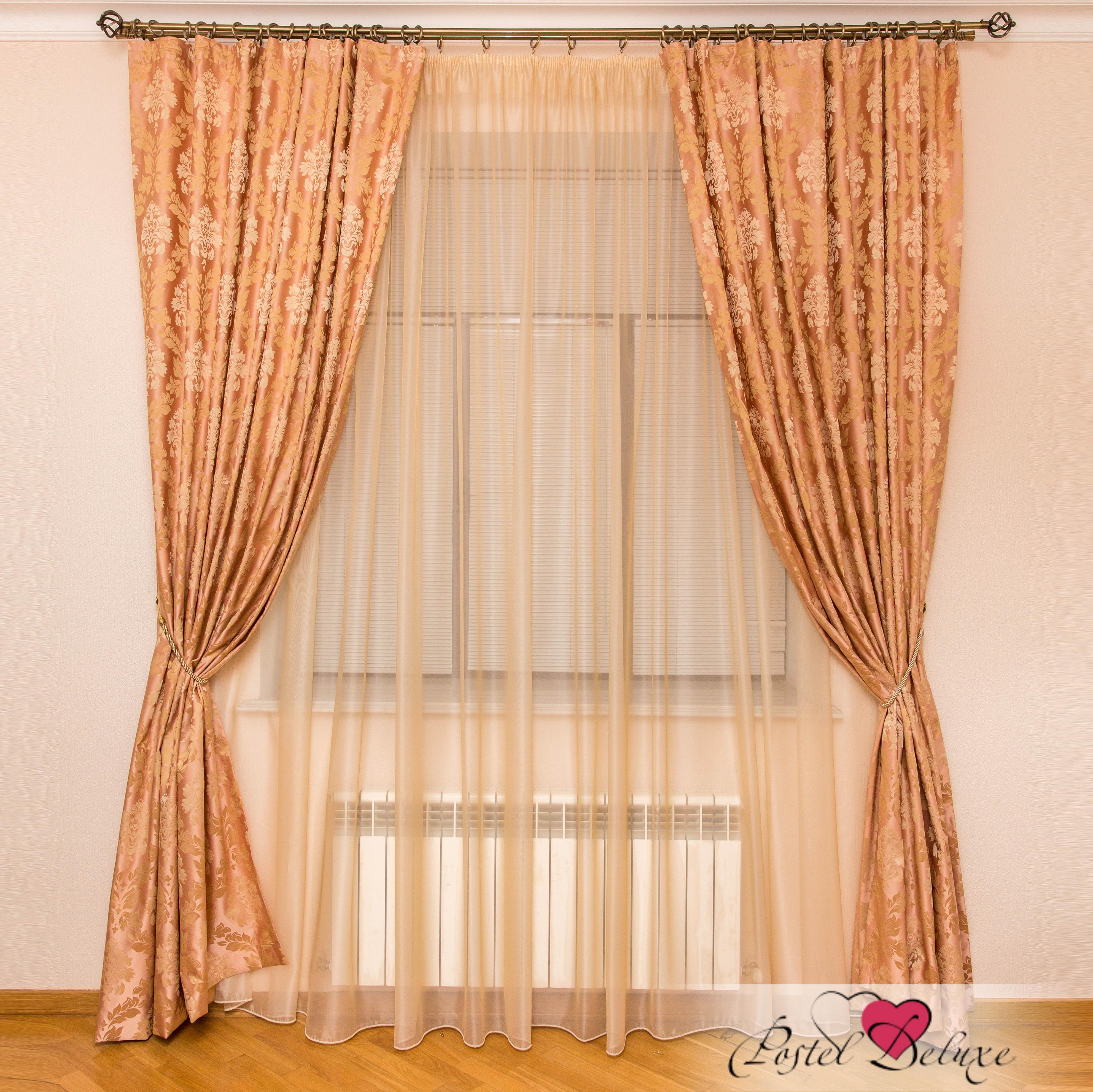 Шторы Interiotex Классические шторы Кальяри Цвет: Розовый
