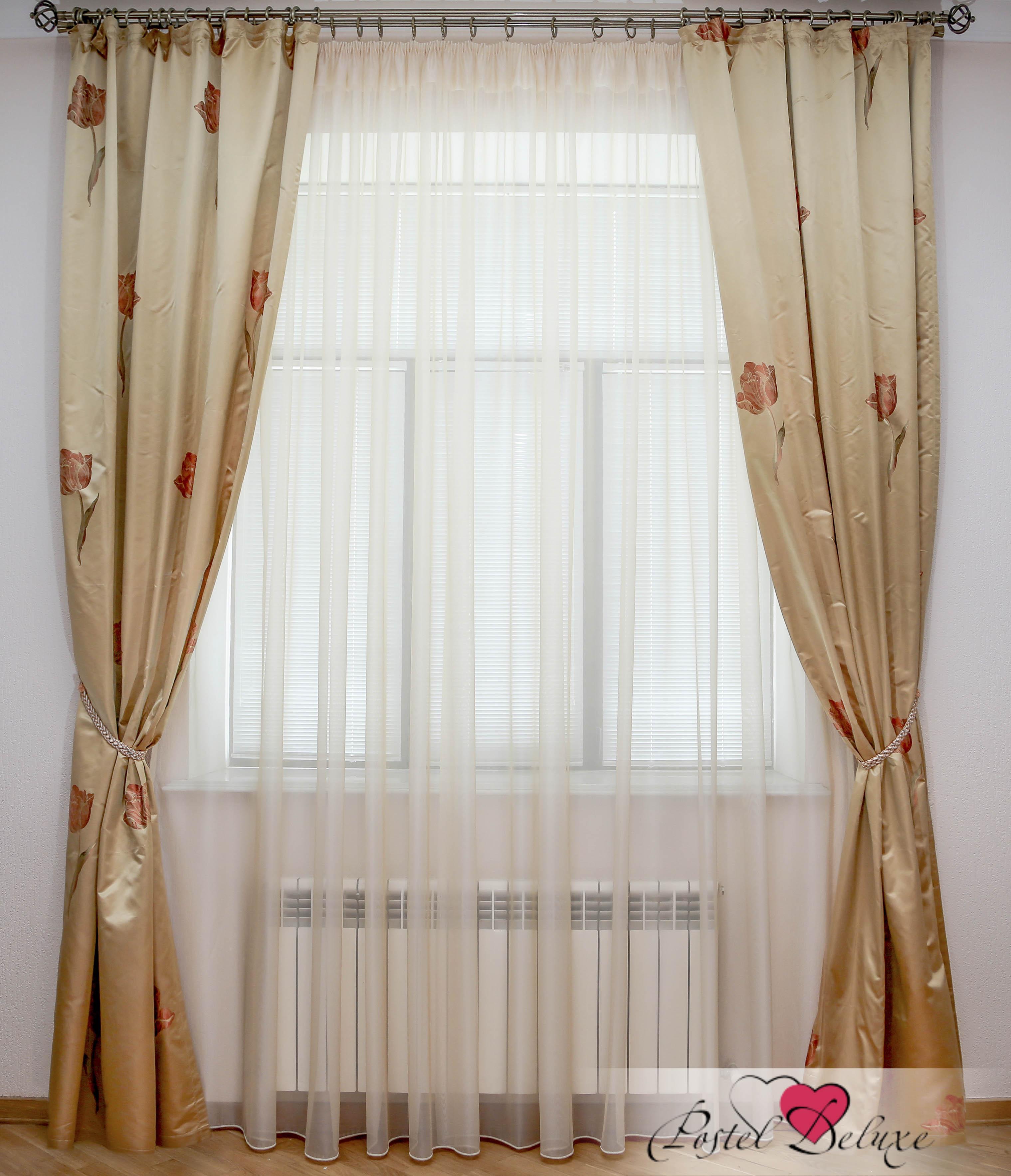 Шторы Interiotex Классические шторы Тюльпан Цвет: Золотой