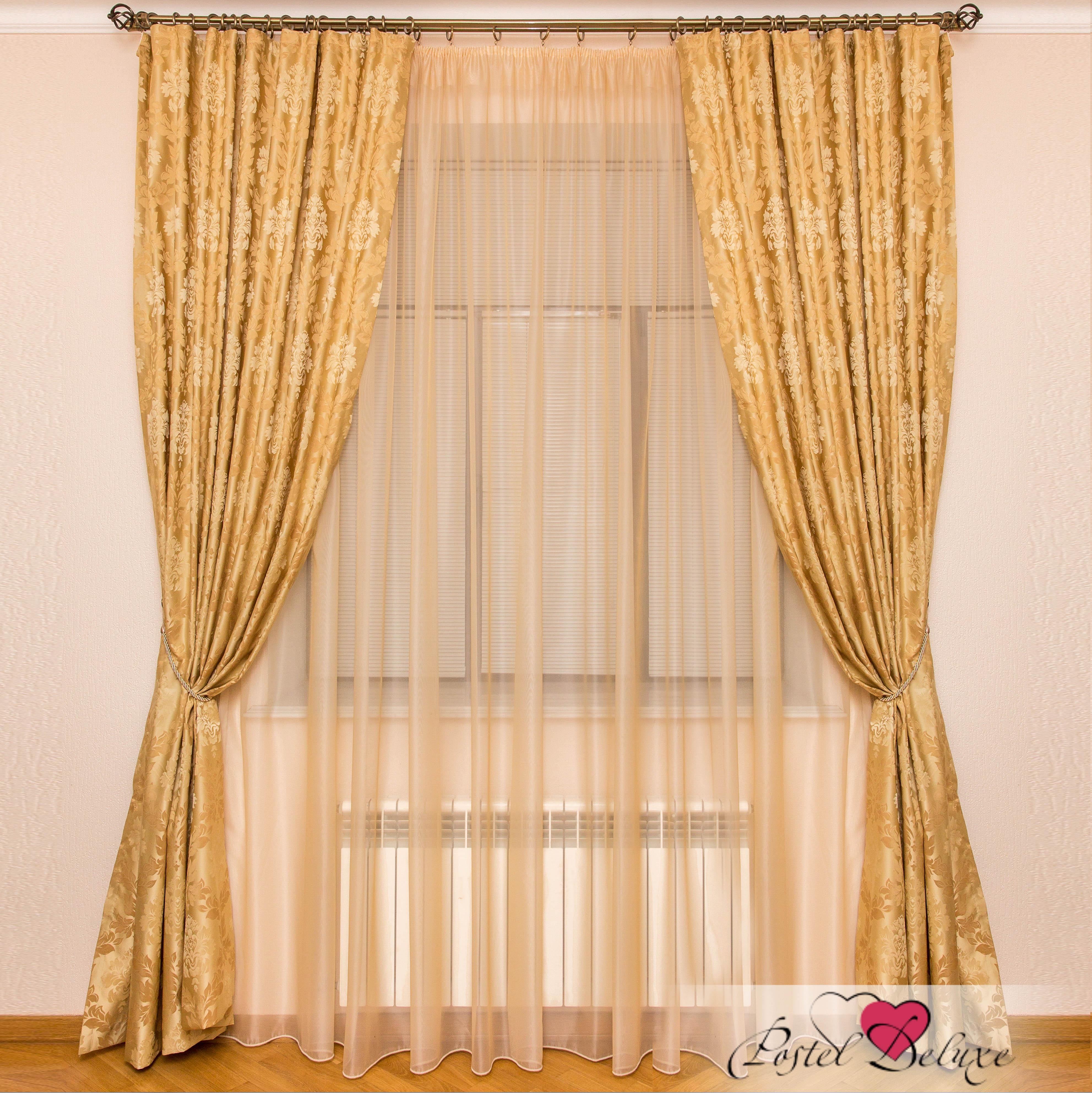 Шторы Interiotex Классические шторы Кальяри Цвет: Золотой шторы tac классические шторы winx цвет персиковый 200x265 см