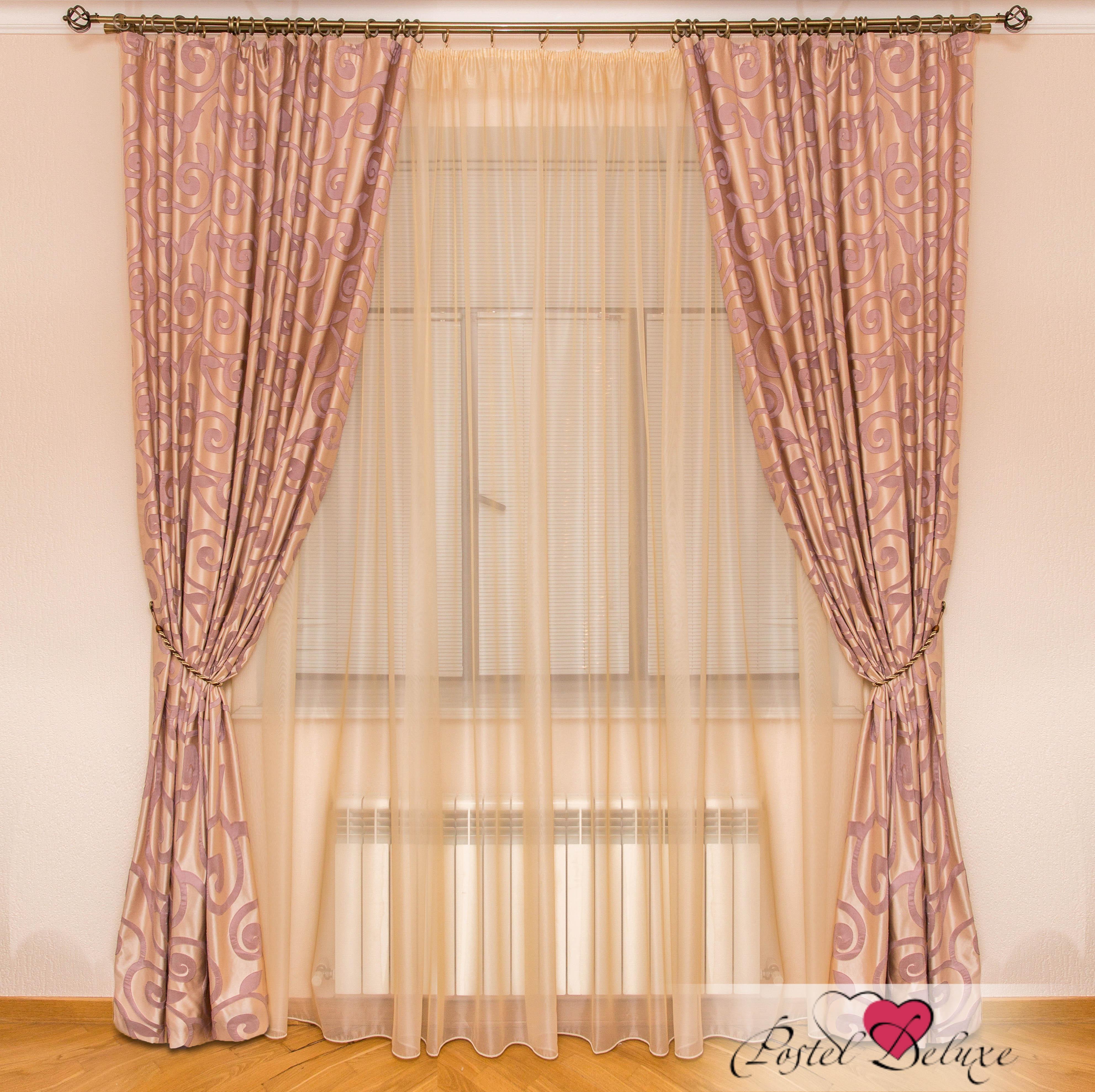 Шторы Interiotex Классические шторы Сильвия Цвет: Сиреневый шторы tac классические шторы winx цвет персиковый 200x265 см