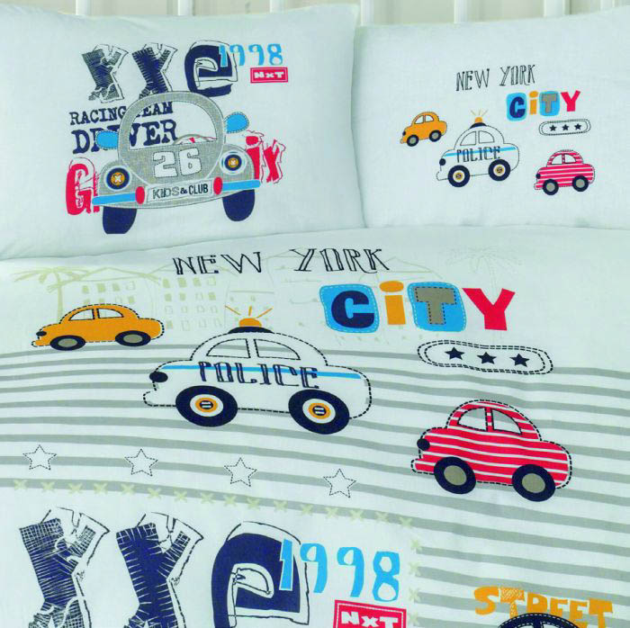 Детское Постельное белье Clasy Детское Постельное белье City Car (100х150)