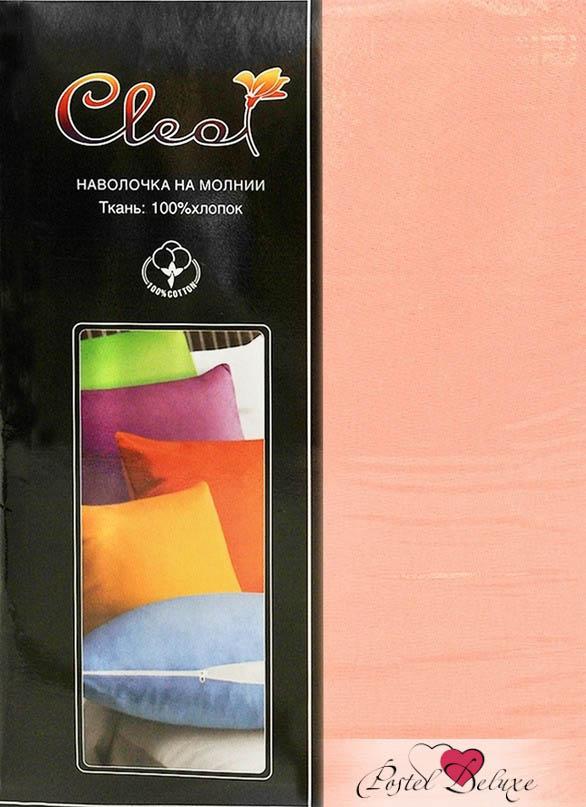 где купить Наволочки Cleo Наволочка Kisha Цвет: Персиковый (50х70 (2 шт)) по лучшей цене