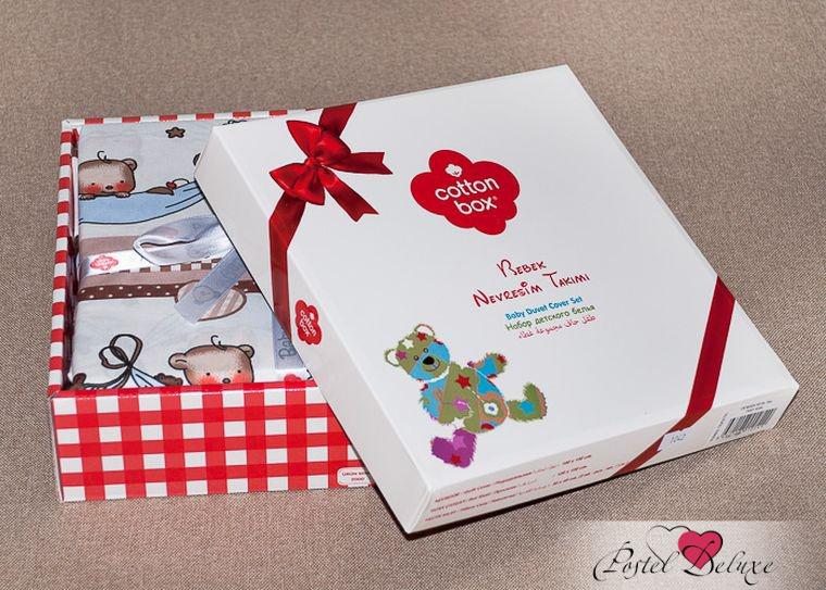 Детское Постельное белье Cotton Box Постельное белье Haylie (100х150 см) muji japan 4 layers facial cotton pad 60 sheets x 2 box