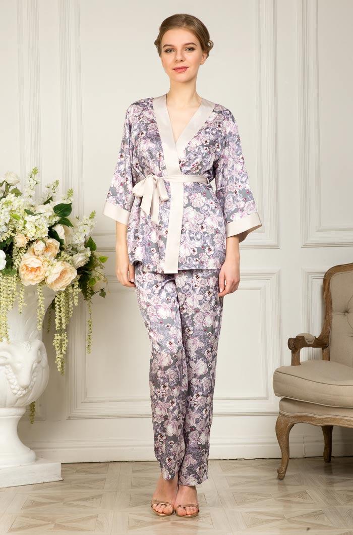 Пижамы Mia-Mia Пижама Fiona (L) пижамы mia cara пижама paulina цвет сиреневый m l