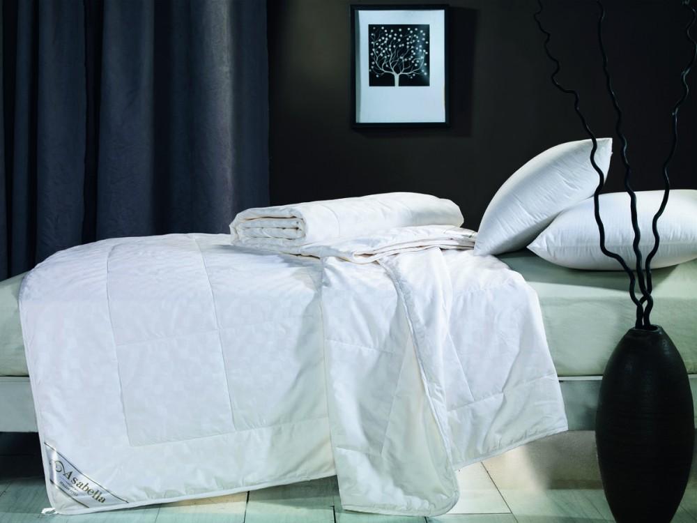 где купить Одеяла Asabella Одеяло Шелковое Asabella(200x220 см.) по лучшей цене
