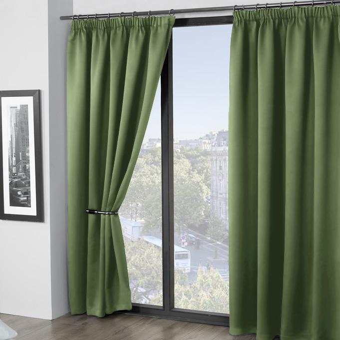 Шторы Amore Mio Классические шторы Grande Цвет: Зеленый набор для кухни pasta grande 1126804