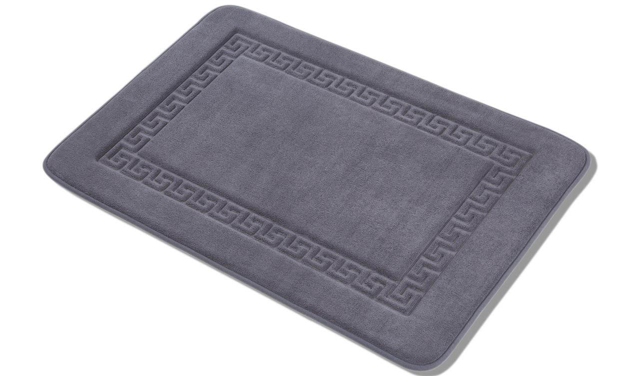 цены Аксессуары для ванной и туалета Arya Коврик для ванной Dalga Цвет: Темно-Серый (60х90 см)