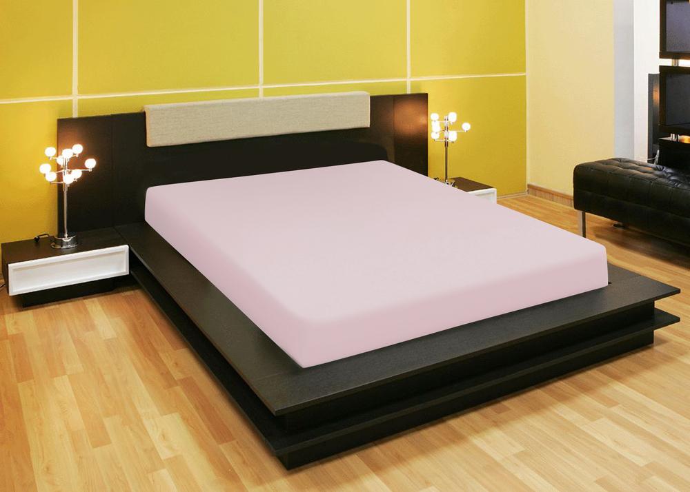 Простыни Amore Mio Простыня на резинке Quiet Цвет: Розовый (140х200) простыни candide простыня bamboo fitted sheet 130г м2 60x120 см