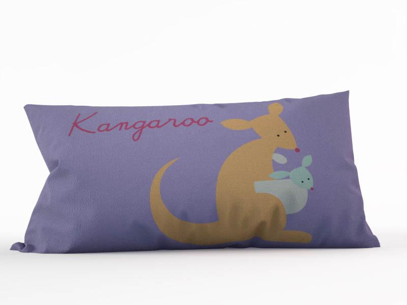 Декоративные подушки StickButik Декоративная подушка Милый Кенгуру (45х45)