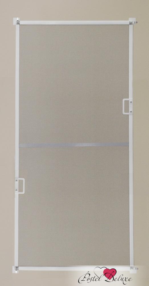 москитные сетки Decolux Москитная сетка Click Цвет рамы: Коричневый сетка москитная к окну 600х500