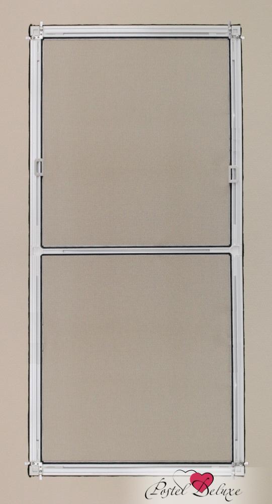 москитные сетки Decolux Москитная сетка Uni Цвет рамы: Коричневый сетка москитная к окну 600х500