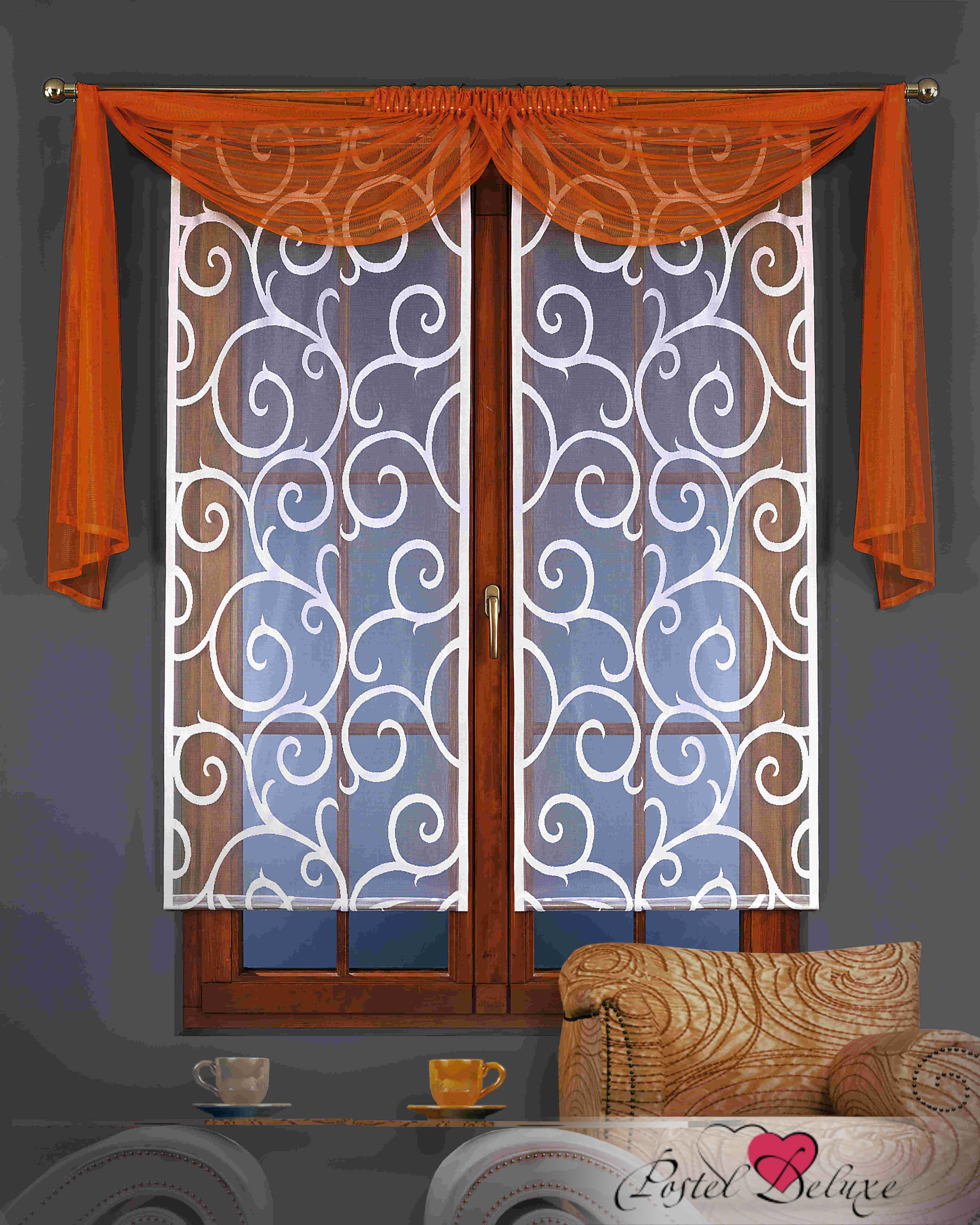 Шторы Wisan Японские шторы Цвет: Оранжевый wisan wisan японские шторы concord