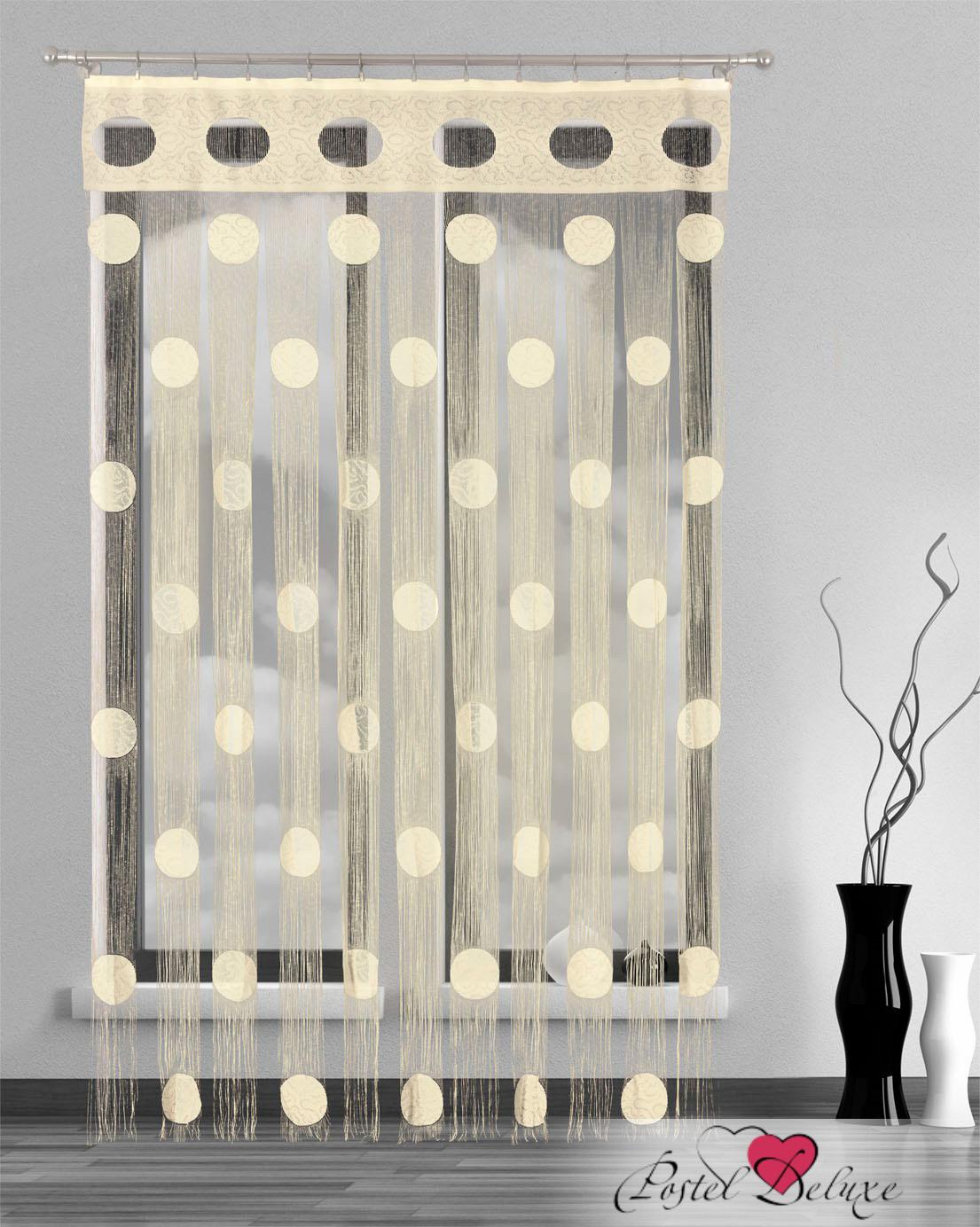 Шторы Wisan Нитяные шторы Цвет: Кремовый, Молочный wisan wisan классические шторы melicent цвет кремовый
