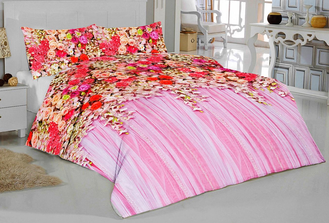 Постельное белье Elegante Постельное белье Дивный Сад (2 сп. евро) постельное белье мартекс постельное белье микрофибра 3d евро вишневый сад