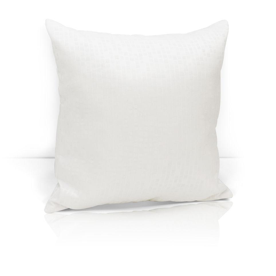 где купить Декоративные подушки Kauffort Декоративная подушка Domino Цвет: Белый (40х40) по лучшей цене
