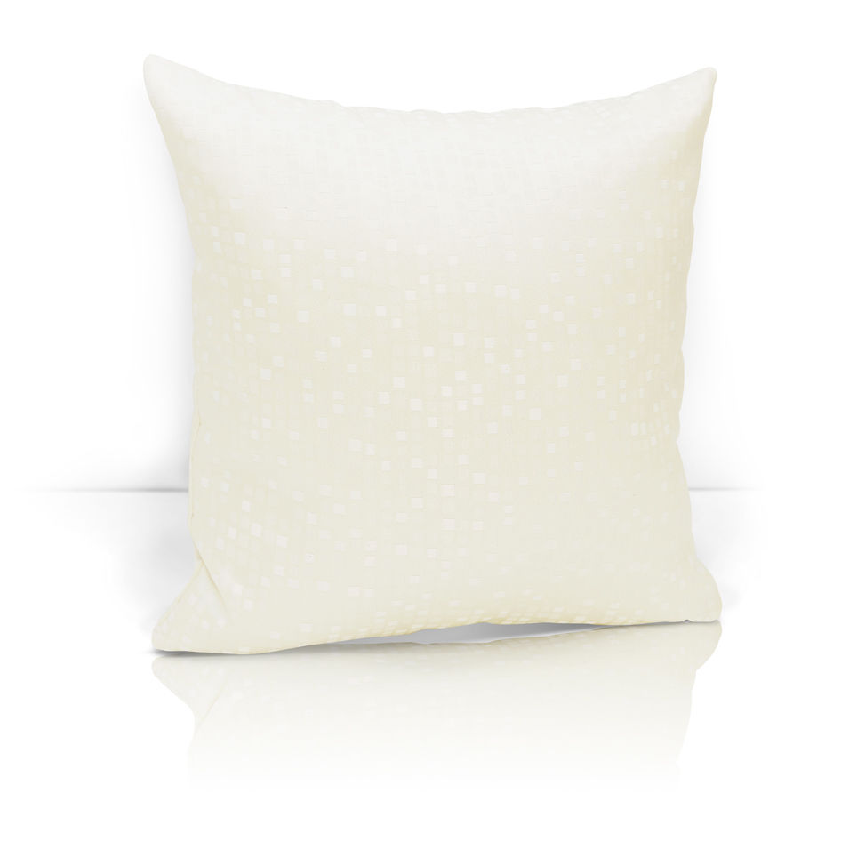 Декоративные подушки Kauffort Декоративная подушка Domino Цвет: Кремовый (40х40) штора kauffort barolo k