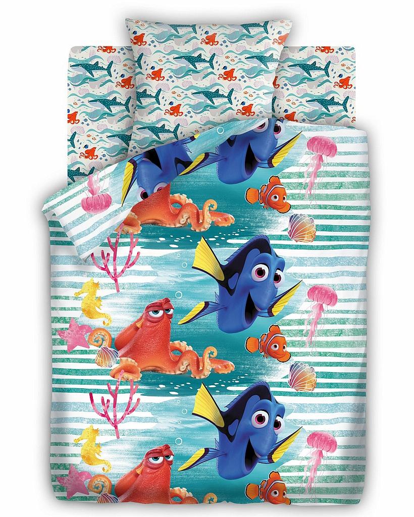 Детское Постельное белье Непоседа Постельное белье Дори (143х215 см) непоседа непоседа детское постельное белье 1 5 спальное emoji movie эмоджи стайл