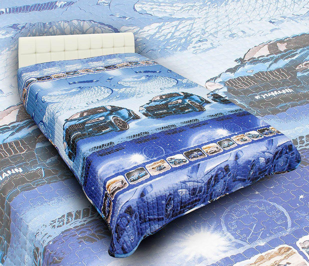 Детские покрывала, подушки, одеяла AlViTek Детское покрывало Драйв (150х215 см) покрывало рафаэль поплин 150х215