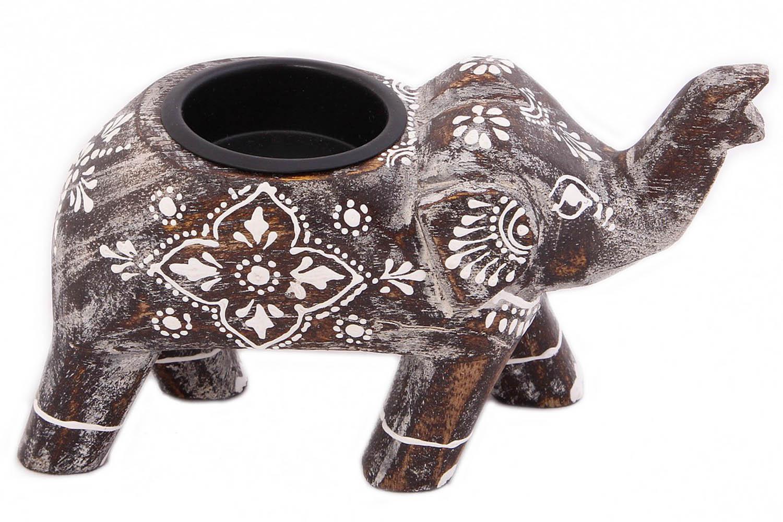 {} Ганг Подсвечник Слон (6х9х15 см) ганг статуэтка слон 3х5х7 см