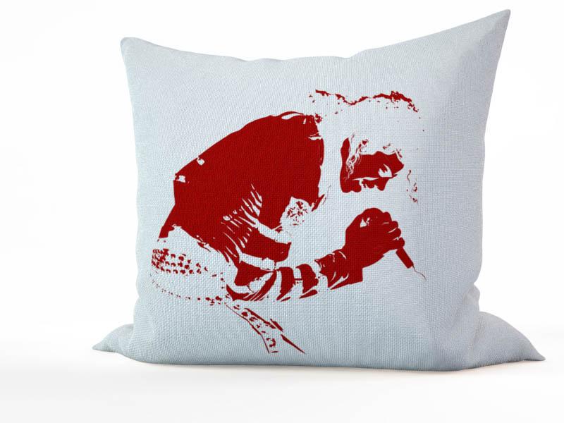 Декоративные подушки StickButik Декоративная подушка Король Поп-Музыки (45х45)