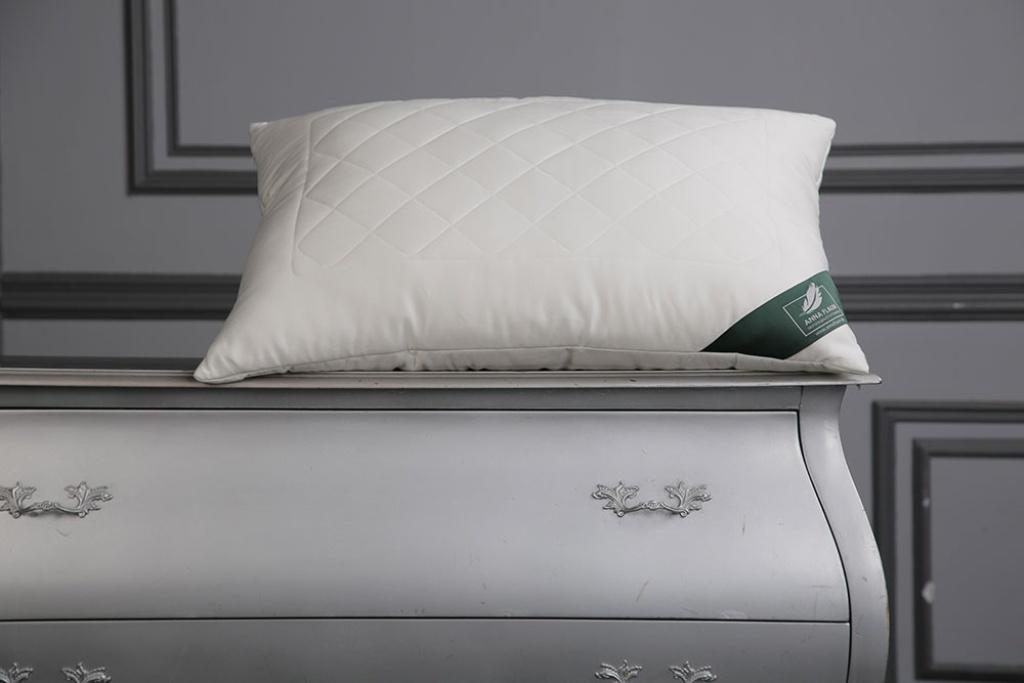 Подушки ANNA FLAUM Подушка Bamboo Средняя (70х70) подушка wendre tencel comfort 70х70 тэнсель 30% полиэстер 70%