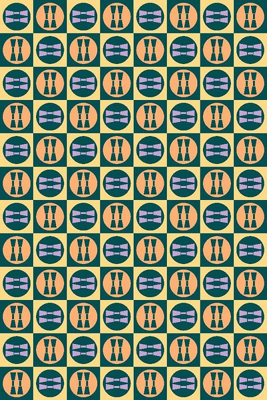 Скатерти и салфетки StickButik Скатерть Цветные Бантики (150х180 см) скатерти и салфетки santalino скатерть lysander 140х180 см