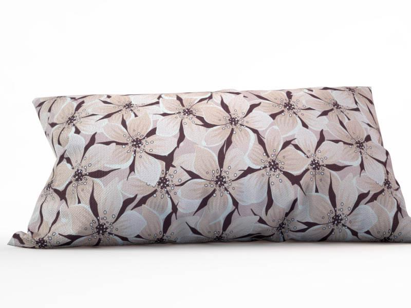 где купить Декоративные подушки StickButik Декоративная подушка Шоколадные Цветы (25х45) по лучшей цене