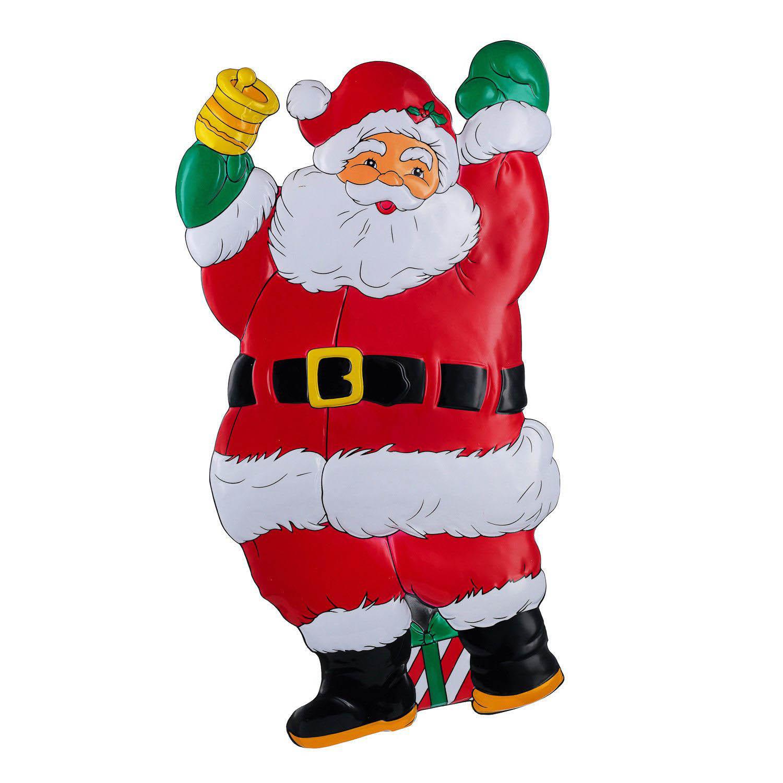 {}  Панно Дед Мороз С Колокольчиком (28х51 см) фигурка дед мороз с колокольчиком 20 см