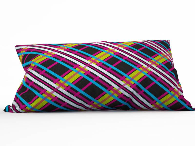 Декоративные подушки StickButik Декоративная подушка Неон (25х45) зверь световой неон найт 45 см северный олень ленточкой 513 269