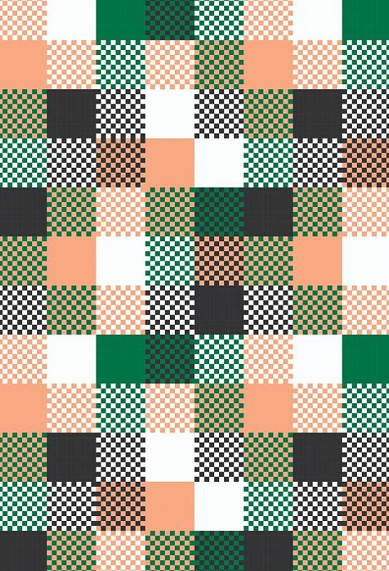 Скатерти и салфетки StickButik Скатерть Цветные Клетки (120х120 см) скатерти и салфетки tango салфетки 1001 ночь 80х80 см