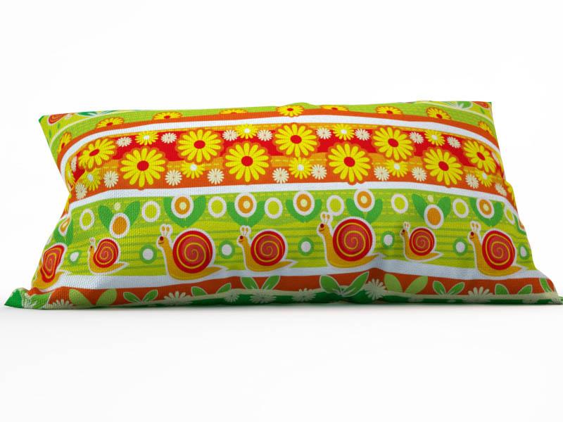 где купить Декоративные подушки StickButik Декоративная подушка Веселые Улитки (25х45) по лучшей цене