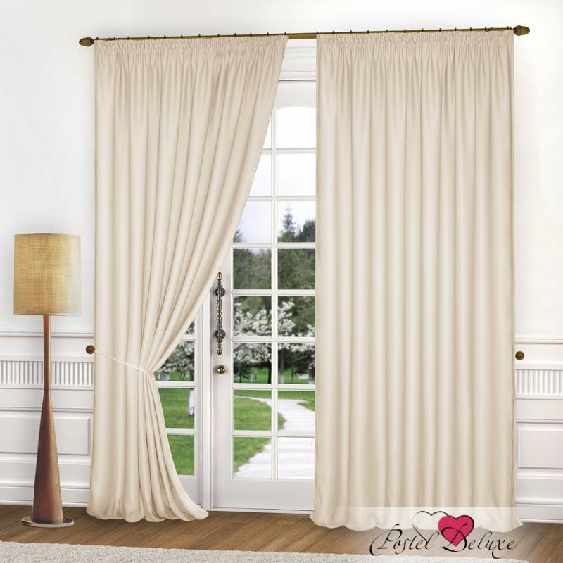 Шторы Elegante Классические шторы Спокойствие Цвет: Кремовый шторы kauffort классические шторы barolo