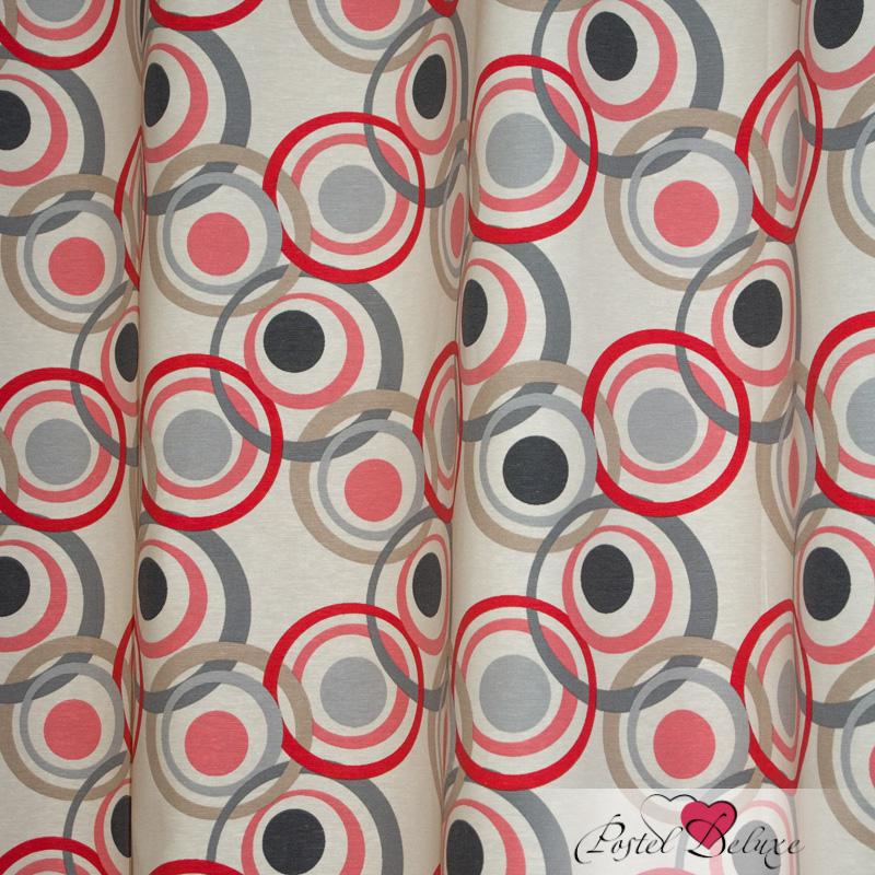 Шторы Elegante Классические шторы Круги Цвет: Розовый шторы tac классические шторы winx цвет персиковый 200x265 см