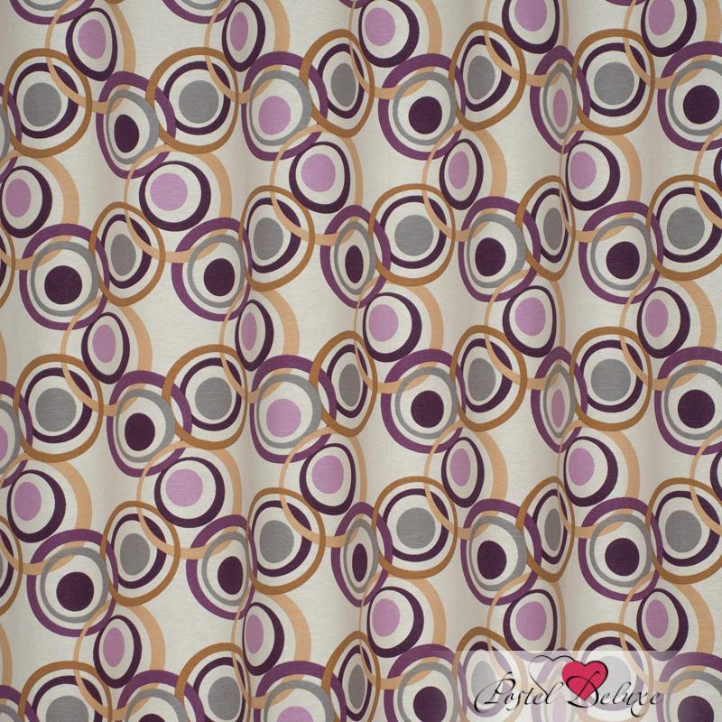 Шторы Elegante Классические шторы Круги Цвет: Сиреневый шторы kauffort классические шторы barolo