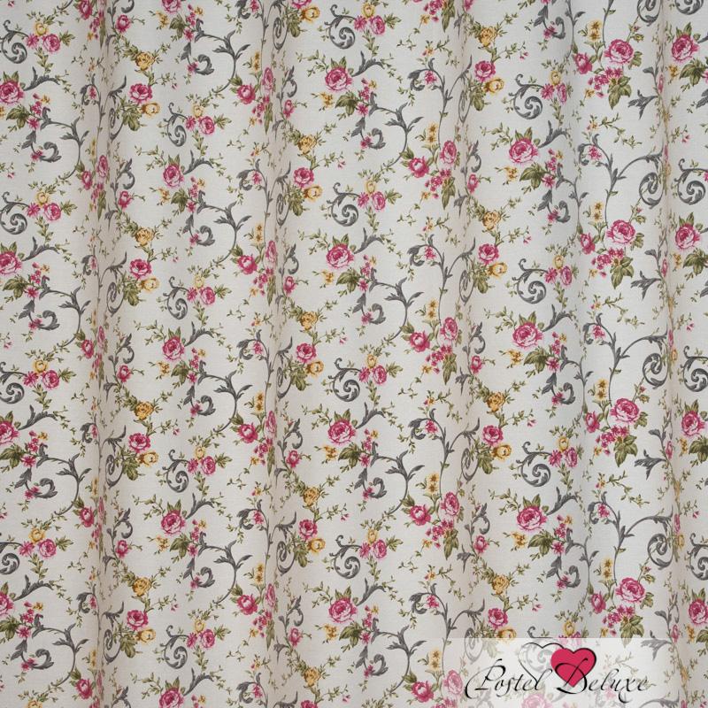 Шторы Elegante Классические шторы Цветочный Узор Цвет: Серый шторы tac классические шторы winx цвет персиковый 200x265 см