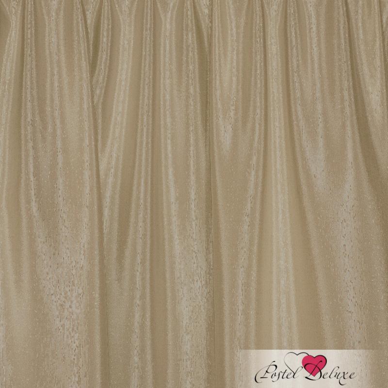 Шторы Elegante Классические шторы Шелковый Блеск Цвет: Светло-Бежевый шторы tac классические шторы winx цвет персиковый 200x265 см