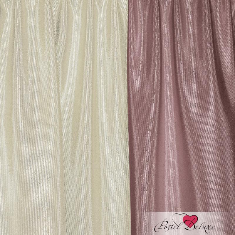 Шторы Elegante Классические шторы Миллениум Цвет: Сиреневый, Молочный шторы tac классические шторы глянец цвет портьер розовый цвет тюля белый с бежевой полоской