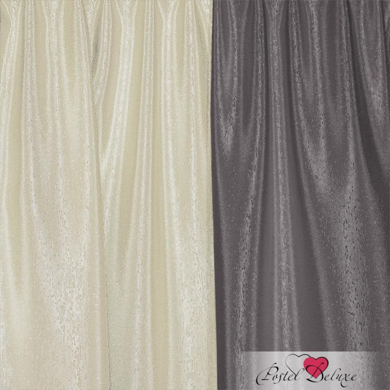 Шторы Elegante Классические шторы Миллениум Цвет: Молочный, Стальной шторы tac классические шторы winx цвет персиковый 200x265 см