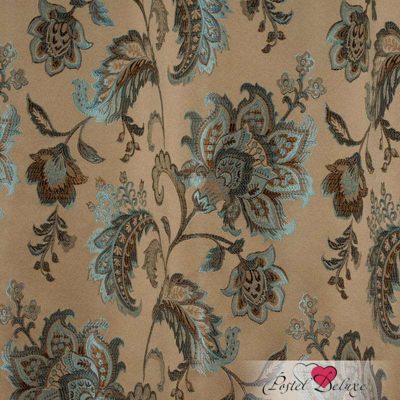Шторы Elegante Классические шторы Гербарий Цвет: Коричнево-Бирюзовый шторы tac классические шторы winx цвет персиковый 200x265 см