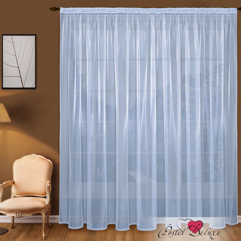 Шторы Elegante Классические шторы Дымка Цвет: Голубой шторы primavera классические шторы maev цвет персиковый