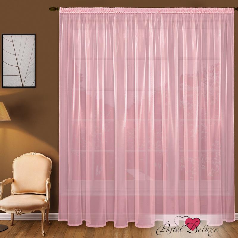 Шторы Elegante Классические шторы Дымка Цвет: Розовый шторы tac классические шторы winx цвет персиковый 200x265 см