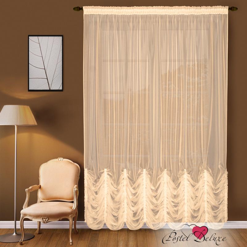 Шторы Elegante Французские шторы Водопад Цвет: Персиковый шторы tac классические шторы winx цвет персиковый 200x265 см