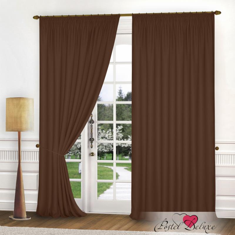 Шторы Elegante Классические шторы Спокойствие Цвет: Коричневый шторы kauffort классические шторы barolo